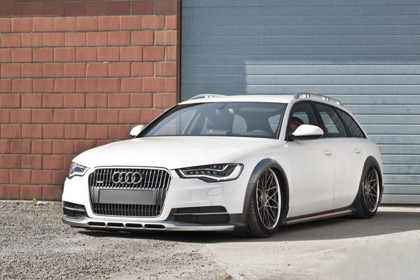 Kean Suspensions занизил Audi A6 Allroad